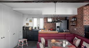 cuisine ambiance bistrot relooking déco avant après visitez cette maison modernisée