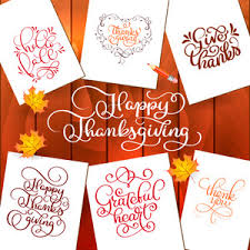 stylish text give thanks on floral design decorated background for
