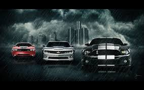 dodge challenger vs ford mustang cars cars vehicles chevrolet camaro sports cars dodge