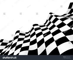 Checkered Racing Flags Checkered Race Flag Racing Flags Background Stock Illustration