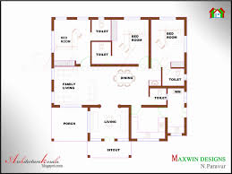 Home Plans 1000 Square Feet Inspirational Small Kerala House Plans