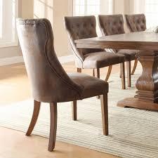 weathered oak vanity homelegance marie louise side chair in weathered oak set of 2