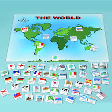 World Map Scotland by Buy Magnetic World Map And 50 Illustrated Pieces A3 Tts