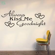 baise bureau creative toujours baiser me amour anglais proverbes stickers