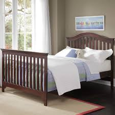 Baby Cribs Convert Full Size Bed by Creations Mesa Convertible Crib In Java