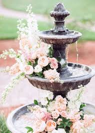 Flower Arrangements Weddings - 27 best fountain decor and flowers images on pinterest flower