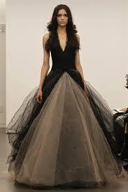 stylish wedding dresses picture of stylish and dramatic black wedding dresses