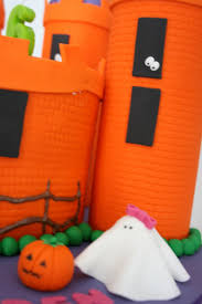 Halloween Castle Cake by Baked By Design Halloween Castle Cake