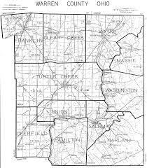 Ohio Map Us by Warren County Ohio Maps
