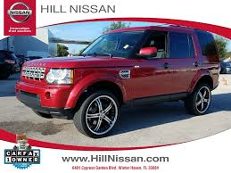 red land rover lr4 used car specials near orlando nissan dealer