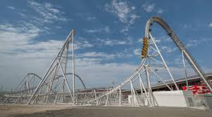 ferrari world flying aces ferrari world abu dhabi intamin rollercoaster