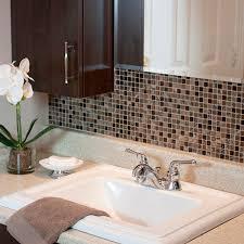 peel and stick bathroom tiles smart tiles bathroom makeover apply peel and stick smart tiles
