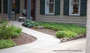 Elevated Front Yard Landscaping - wheelchair ramp design specs for a more accessible porch