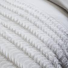 White Ruffle Duvet White Ruffle Quilt Cover The Quilting Ideas