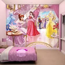 chambre fille disney décor murale de princesse disney pour chambre de fille décorer les