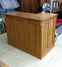 bureau d angle en bois massif nos meubles antiquités brocante vendus