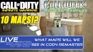 List Of Cod4 Maps The 10 Maps In Call Of Duty 4 Remastered Online Maps Wanted In