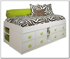 Bed Frame With Storage Twin Size Bed Frame With Storage Beds Home Design Ideas