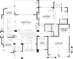 modern style house plan 4 beds 3 5 baths 4600 sq ft plan 48 457