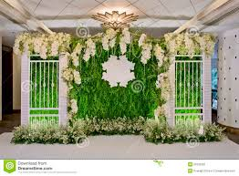 wedding backdrop for pictures luxury indoors wedding backdrop decoration stock image image of
