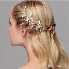 hair accessories for prom new handmade wedding bridal prom women hairpin silver gold