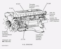 1999 jeep grand cherokee engine diagram automotive parts diagram