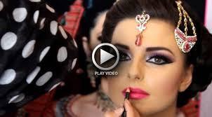 black smokey eye full face makeup tutorial heavy glam video stani makeup base