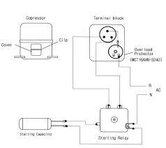 refrigerator compressor starter wiring diagram efcaviation com