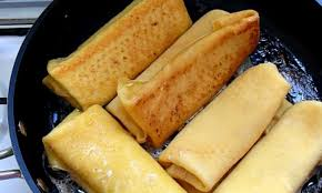potato starch the wrapper for these blintzes is made from potato starch eggs