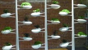 Indoor Vertical Gardening - vertical hydroponic gardening system debuts at ny design week 2012