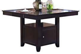 Espresso Dining Room Furniture by New Classic Furniture Kaylee Counter Table In Espresso 45 102 B10