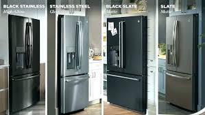 black kitchen appliances ideas lowes black stainless steel refrigerator appliances at kitchen