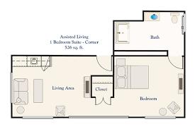 assisted living apartment floor plans springwell senior living