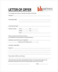 Offer Letter Exle offer letter city espora co