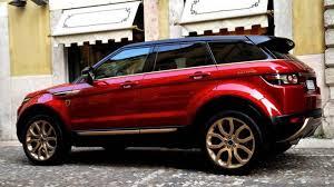 matte red range rover range rover evoque bollinger by aznom video