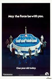 wars birthday cakes 1978 wars birthday cake poster vintage poster canvas