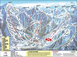 Colorado Ski Areas Map by Brighton Ski Resort
