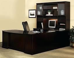u desk with hutch beautiful u shaped office desk with hutch executive office desk u shape