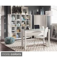 Tall Writing Desk by Aero Writing Desk With 16 Cube Bookcase Room Divider Free