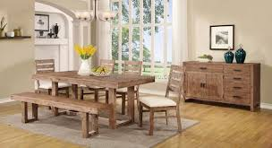 Country Dining Room Decor by Dining Room Built In Bench 3 Best Dining Room Furniture Sets