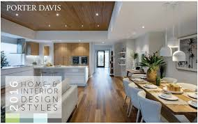 display home interiors porter davis 2016 home and interior design trends