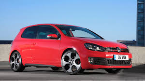 volkswagen gti wallpaper 2012 volkswagen golf vi gti in red side front pose wallpaper
