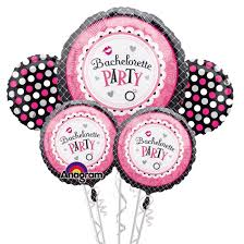 nyc balloons delivery bachelorette party balloon bouquet inflated with helium and added to