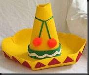 como hacer un sombrero de carton como hacer un sombrero de mexicano en foami