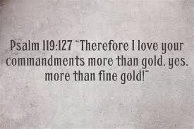 what does the color gold or symbolize in the bible