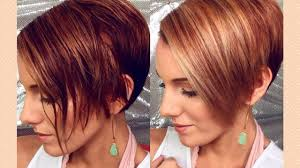 nine months later its a bob from pixie cut to bob haircut how to round brush style an asymmetrical pixie bob youtube