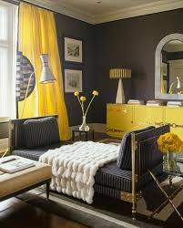 Yellow Curtains For Bedroom Chic Interior Designs With Yellow Curtains