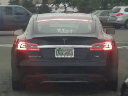 Vanity Playes This Tesla Vanity Plate Is My New Favorite