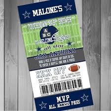 dallas cowboys baby shower invitations wblqual com
