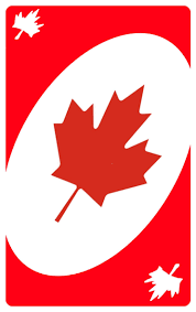 Flag Of Canada Flag Of Canada If It Was Colonized By Uno Because Im Funny And